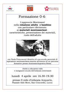 formazione Montessori 4 aprile bis
